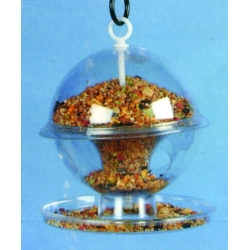 K7DL Globe Seed Feeder with Tray